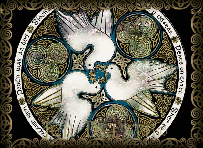 CELTIC DOVES - PEACE ON EARTH