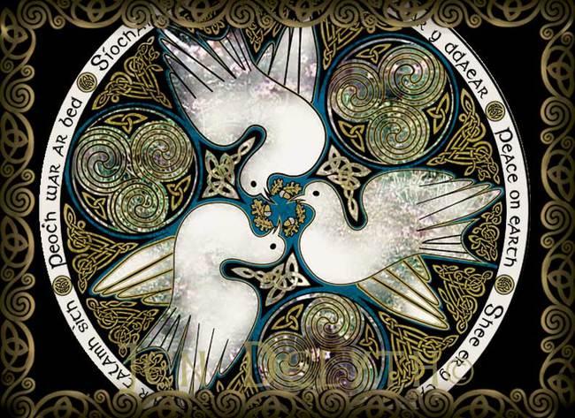 CELTIC DOVES - PEACE ON EARTH