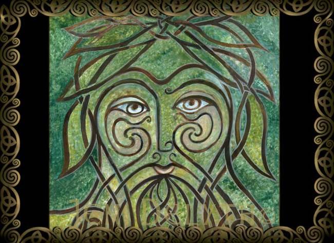 GREEN MAN - Myrddyn Wyllt