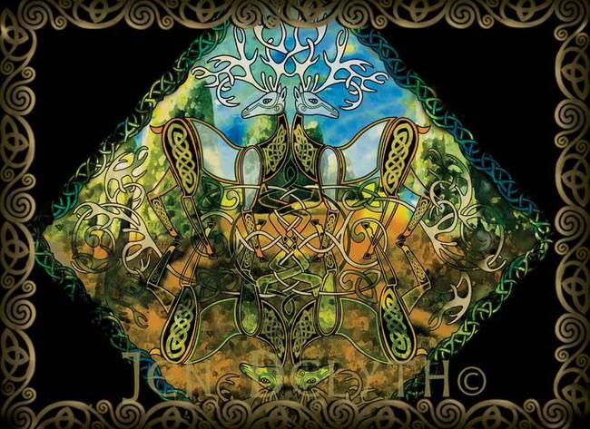 HERNE - Stag Mandala