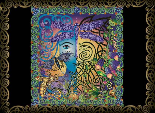 the GARDEN - Green Man/Woman