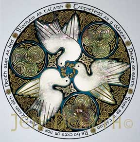 Doves Celtic Art Studio Symbols
