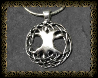 Large sterling siver pendants celtic art by jen delyth large 1 14 sterling silver pendant aloadofball Image collections