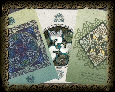 Celtic Blessings Holiday Cards