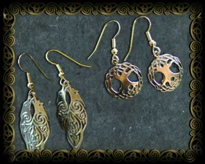 EARRINGS Bronze