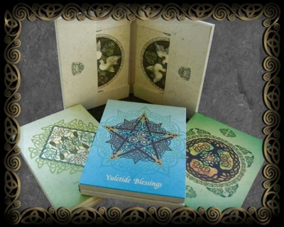 CELTIC BLESSINGS HOLIDAY FOLIO BOX