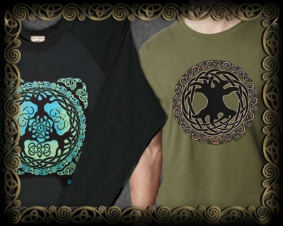 Celtic Tree of Life Unisex Ts