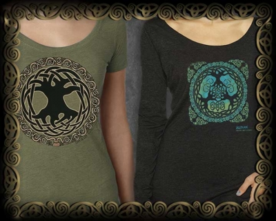 Celtic Tree of Life Women's Ts & LS