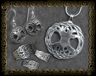 Celtic Tree of Life Sterling Silver Jewelry