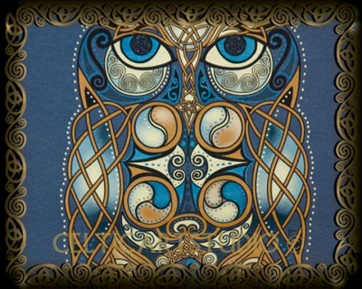 Owl - Unisex Keltic Designs Shirt