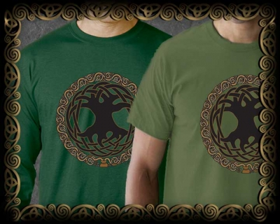 Celtic Tree of Life - Unisex Ts & LS