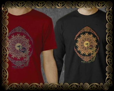 Solstice Raven - Unisex Ts and Long-sleeves