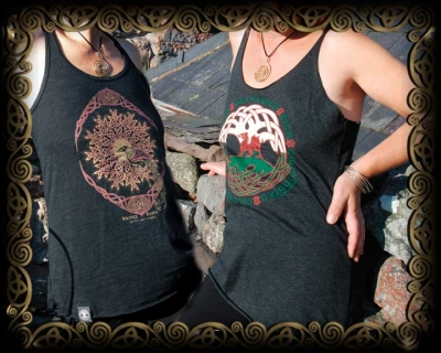 New! Vintage Heather Tanks