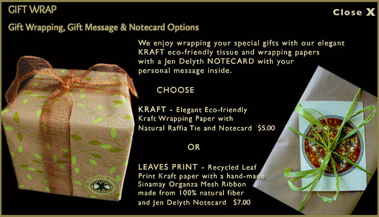gift wrapping information