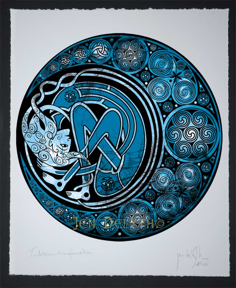 Arianrhod Moon Spirit Limited Edition Celtic Art Print