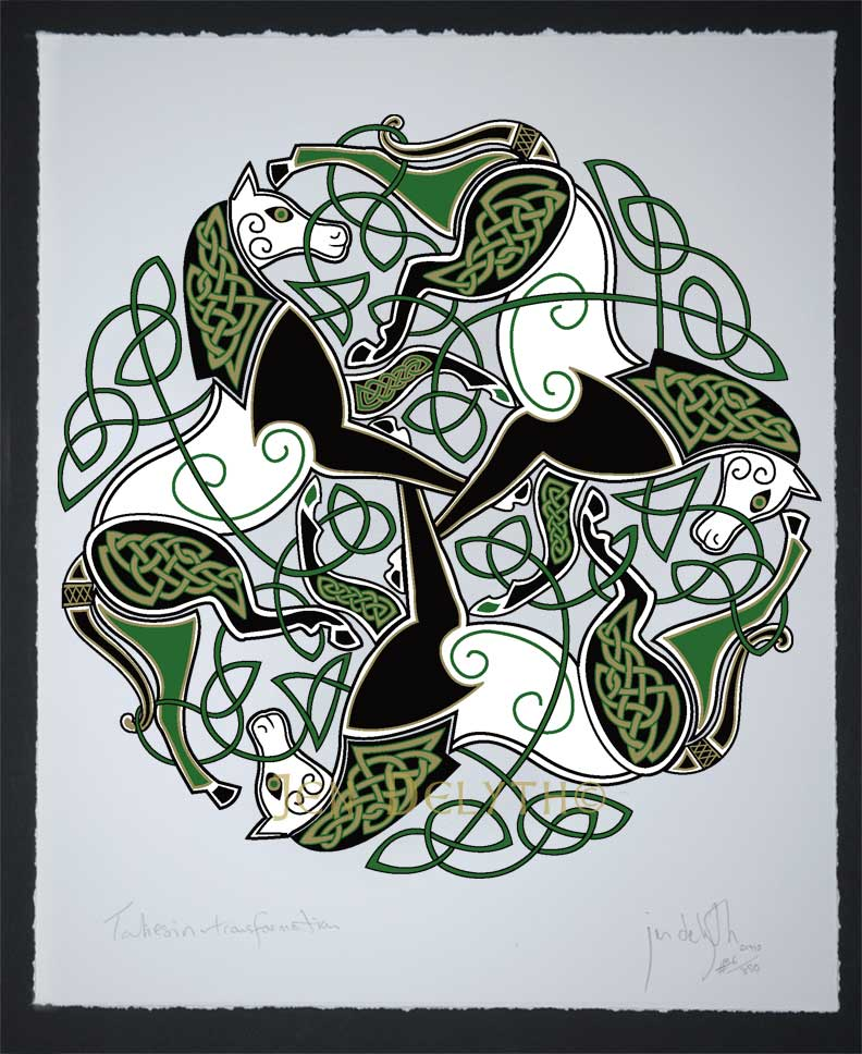 Epona Traditional Celtic Art Open Edition Giclee Print