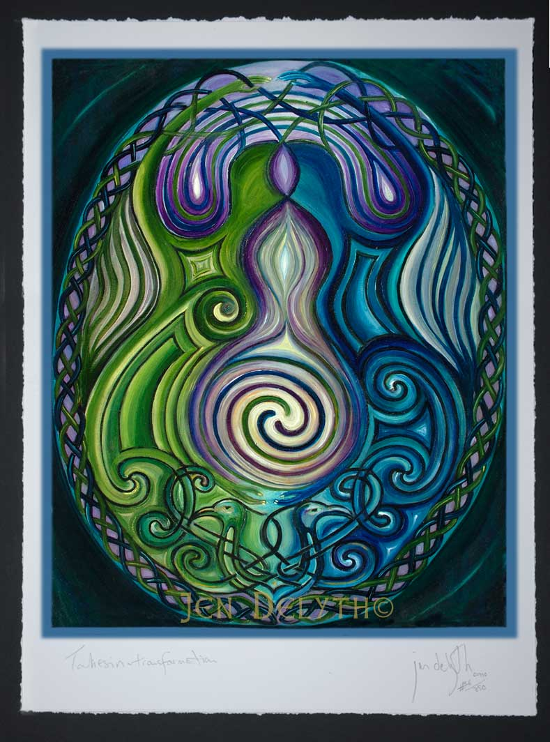Emergence Limited Edition Celtic Art Print By Welsh Artist