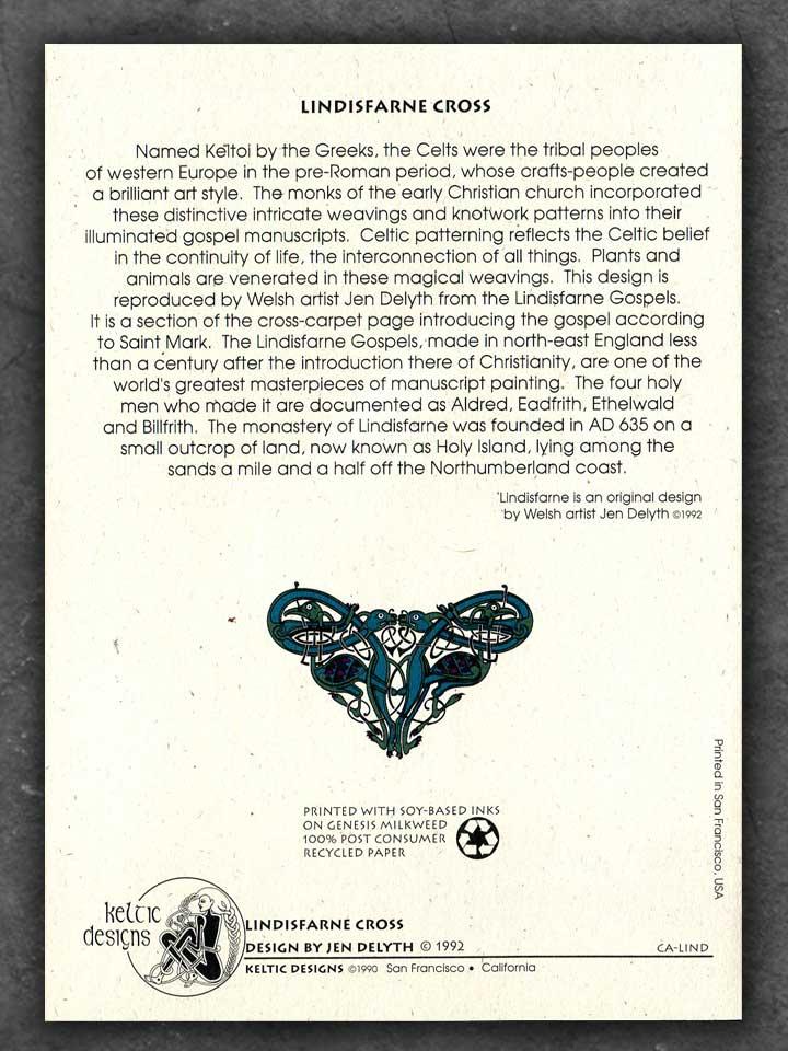 Celtic Notecards Recyled Paper By Jen Delyth