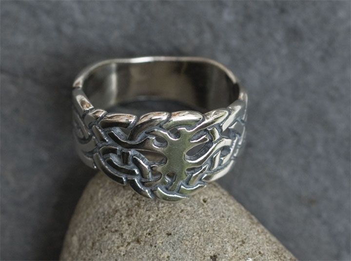Tree Of Life Sterling Silver Rings By Welsh Artist Jen