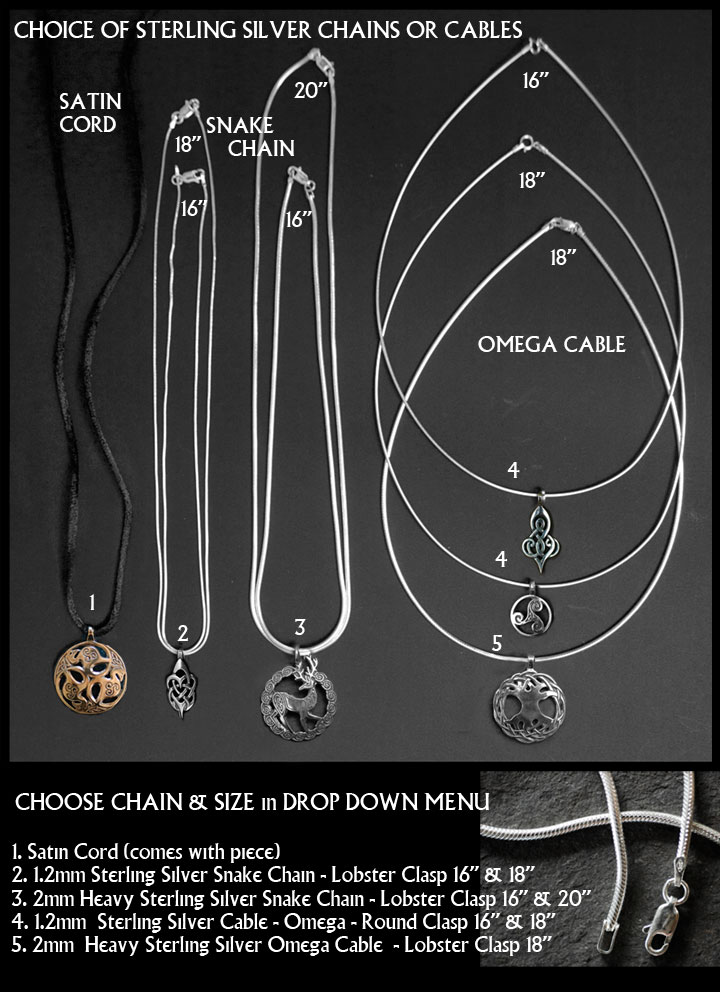 Celtic tree of life jewelry set large sterling silver celtic chain selection mozeypictures Choice Image
