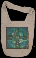 ANU - EARTH MOTHER artPATCH Canvas Sling Bag By Jen Delyth