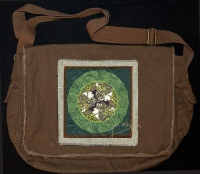 EPONA Celtic Horses artPATCH Canvas Field Bag By Jen Delyth