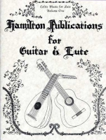 Hamilton Publications for Guitar & Lute Vol 1-4 by Allan Alexander