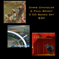 3 CD Boxed Set  - Chris Chandler & Paul Benoit