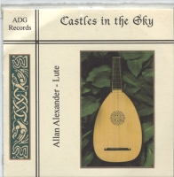 Castles in the Sky - Lute Music CD by Allan Alexander & Jessica
