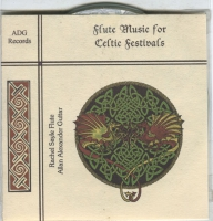 CD Flute Music for Celtic Festivals by Allan Alexander & Rachel Sayle