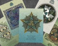 Celtic Holiday Card 10 Pack By Jen Delyth