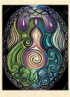 EMERGENCE Greeting Card By Jen Delyth