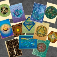 Celtic Notecards  by Jen Delyth