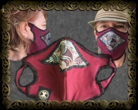 JEN DELYTH CELTIC  COVID MASK artPATCH Canvas Field Bag By Jen Delyth