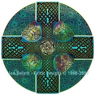 Celtic Cross Cross Stitch Pattern
