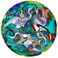 Herons - Tri Garan - Cross Stitch Pattern