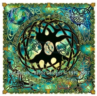 Tree of Life - Y Goeden Bywyd - Cross Stitch Pattern