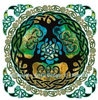 Yggdrasil - World Tree - Cross Stitch Pattern