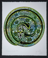 OUROBOROS - Earth Serpent - Archival Open Edition Giclee Print