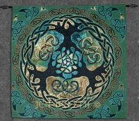 YGGDRASIL World Tree Fine Art Tapestry