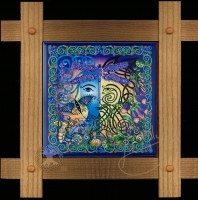 the GARDEN Wood Framed Tile