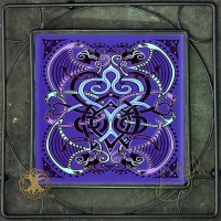 BARD SONG Iron Framed Tile