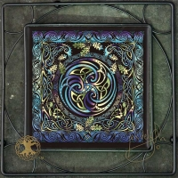 Celtic Weavers Iron Framed Tile