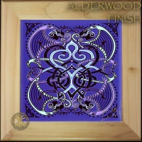 BRIGHID Wood Framed Tile