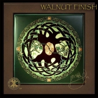 CELTIC TREE of LIFE MANDALA by Jen Delyth Wood Framed Tile