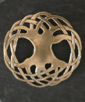 TREE of LIFE - Bronze Celtic Brooch By Jen Delyth