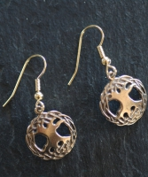 TREE of LIFE  - Bronze Celtic Earrings