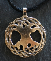TREE of LIFE  - Large Bronze Celtic Pendant By Jen Delyth