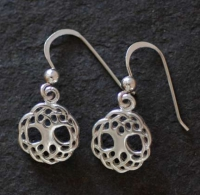 TREE of LIFE - Sterling Silver Celtic Earrings