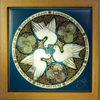 DOVES peace  Keepsake Box by jen delyth